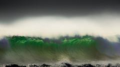 (MyEyeSoul) Tags: wave ocean sea surf green blue color colour spray breeze bali indonesia legian beach beachlife