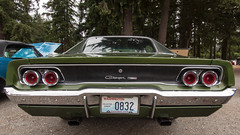 Charger (KurtClark) Tags: pacificraceways sovren vintageraces kent washington unitedstates us charger 1968 68 dodge green