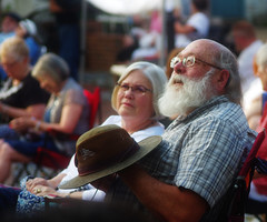 Concert Couple (photo_secessionist) Tags: couple concert portrait candid outdoor summer fredericksburg virginia pentax k3 quantarayf45670300mmlens colour digital