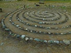 Grunewald Guid Maze (Pictoscribe) Tags: pictoscribe grunwald guild plain wa 98826 lutheranart nature siritualretreat