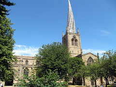 The crooked spire (kingsway john) Tags: st marys all saints chesterfield tower spire crooked derbyshire uk church