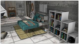 .Book Lover Bedroom