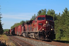 CP Mactier Sub (Ontario Trackside Photography) Tags: cp canadian pacific railway cpr mactier subdivision train railroad railfanning trains