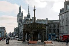 Aberdeen (Tuomo Lindfors) Tags: aberdeen scotland unitedkingdom yhdistynytkuningaskunta isobritannia greatbritain skotlanti mercatcross dxo filmpack