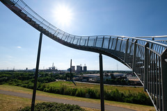 "Up to the sun // ""Tiger & Turtle"" VI (Werner Schnell Images (2.stream)) Tags: ws tiger turtle landmarke skulptur duisburg stairs treppe ruhrgebiet"