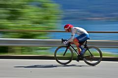 Velocità / Speed     (3) (frank28883) Tags: velocità speed velo bike bicicletta girorosa girorosa2018 verbania lagomaggiore panning