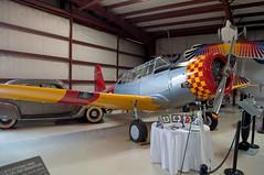 SNV-2 Valiant (stevesheriw) Tags: texas addison airport cavanaugh flight museum snv2 valiant