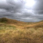 Dunes in clouds thumbnail