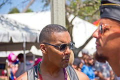 Pride 2018 68 (LarryJay99 ) Tags: pridefest2018 2018 lakeworth florida festival people light man men guy guys dude male studly manly dudes handsome gayfest festivals prideevents people2018 canon60d blackmale black sunshades sunglasses glasses faces facialhair caps