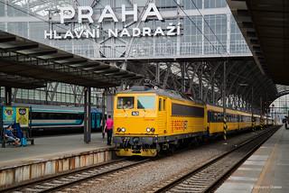 162 119-2 REGIO JET - Praha hlavní nádraží