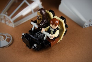 Modified Lego Millenium Falcon Cockpit