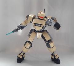 High-Frequency Knife (frameworks6) Tags: lego mecha mech robot military