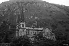 Santuario de Covadonga (Noemí pl.) Tags: santuariodecovadonga santuario covadonga concejo asturias montaña arquitectura blancoynegro bnw airelibre nature viajar