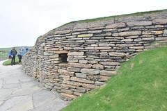 Neolithic House (PLawston) Tags: uk britain scotland orkney mainland skara brae neolithic village house window