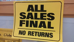 """All Sales Final 