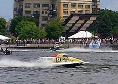Ken's Raceboat 6 30 2014 (genesee_metcalfs) Tags: boat racing river baycity husband