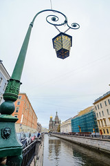 Vintage lamp post (phuong.sg@gmail.com) Tags: architecture autumn background beautiful blue bridge canal church city culture decoration electricity famous historical history landmark landscape lantern light metal neva old outdoor petersburg post river russia russian sky style tourism travel trinity troitskiy troitsky urban view water