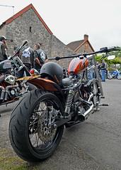 WideBoy... (Harleynik Rides Again.) Tags: 33 ncc chopperclub northsomerset cheddar bikeshow harleydavidson chopper motorcycle bikers harleynikridesagain nikondf
