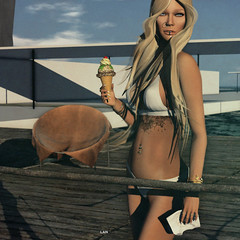 · (· Lan ·) Tags: exxess clefdepeau shinyshabby lelutka saltpepper mermaidcove secondlife lan