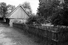 Scan-110921-0005 (marek.golkowski) Tags: poland polska skansen olsztynek analogphotography analog filmphotography monochrome pentax pentaxian cottage vilage