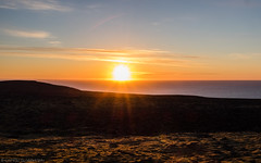 Just after Midnight (katrin glaesmann) Tags: iceland unterwegsmiticelandtours photographyholidaywithicelandtours vestfirðir westfjorde westfjords peninsula sea midnightsun notreallysureaboutthegeotag