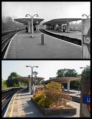 Loughton station (Tetramesh) Tags: tetramesh london england britain greatbritain gb unitedkingdom uk localhistory nowandthen thenandnow pastandpresent oldlondon lostlondon presentandpast londonpastandpresent londonnowandthen londonthenandnow londonpast socialhistory uklocalhistory londonlocalhistory transporthistory londonstransportpastandpresent londonstransportnowandthen londonstransportthenandnow londonunderground tfl londontransport tube thetube metro loughton loughtonstation oldstationroad rodingroad ig10 ig104pd benbrooksbank inchmole easterncountiesrailway centralline johnmurrayeaston londonnortheasternrailway 28thapril 24thapril 21stnovember greateasternrailway eppingforest essex britishrail britishrailrailways