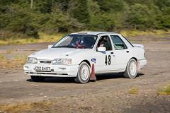 Ford Sierra (deltic17) Tags: ford classic car sierra rally motorsport msa twayford lincs woodland