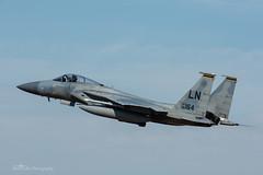 USAF, McDonnell Douglas F-15C Eagle (86-0164/LN), 493rd FS/48th FW (mattmckie98) Tags: aircraft aviation airforce usaf us military lakenheath f15 fighter jet nikon
