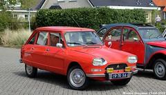Citroën Ami 8 1977 (XBXG) Tags: 19tk56 citroën ami 8 1977 red rood rouge voorjaarsrit 2018 amiverenigingnederland avn citroënami8 citroënami ami8 burghhaamstede burgh haamstede schouwenduiveland schouwen duiveland zeeland nederland holland netherlands paysbas vintage old classic french car auto automobile voiture ancienne française vehicle outdoor