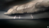 Super Cell Strikes (John_Armytage) Tags: supercell weather lightning storm newcastle barbeach australia nsw visitnewcastle visitnsw nikonaustralia nikond850