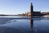 IMG_9922 (Lauro Meneghel) Tags: sweden svezia stockholm stoccolma winter inverno ice ghiaccio malaren lake frozen cityhall gamlastan 2017