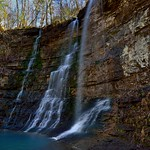 Waterfalls in the Buffalo National River Wilderness thumbnail