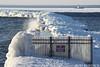 mack41918PIbrw_rb (rburdick27) Tags: ice breakwater breakwall lakesuperior mackinaw coastguard marquette scenicmichigan