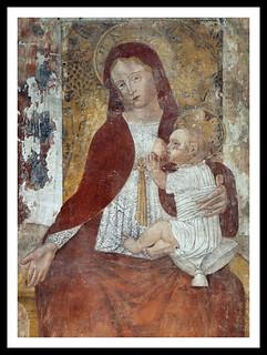 Madonna che allatta il Bambino - Chiesa di San Rocco in Melegnano
