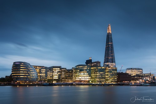 City Hall & The Shard, London