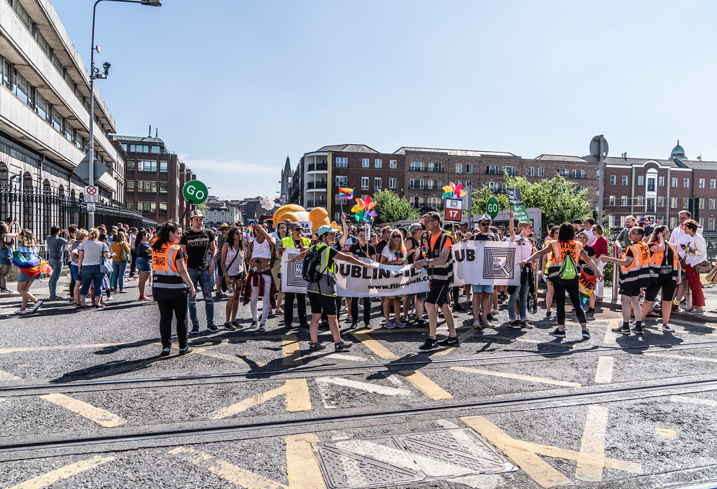 ABOUT SIXTY THOUSAND TOOK PART IN THE DUBLIN LGBTI+ PARADE TODAY[ SATURDAY 30 JUNE 2018] X-100102