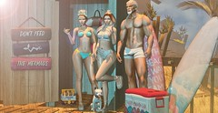 #AND MY SUMMER CONTINUES (Zeva Style) Tags: events kinkyevent uber fameshed applique stores catwa cynful justmagnetized reign chicchica sl summer bento mesh friends