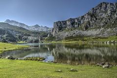 Covadonga (Enrica F) Tags: ercina asturias españa nikon lago lake montaña paisaje mountain landscape agua water covadonga