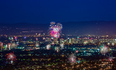 July 4th, 2018 (theordinaryphotographer) Tags: fireworks july4th july42018 sanjose