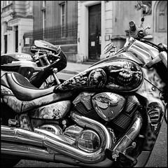 Bristol (Mark Greening) Tags: bristol motorbike blackandwhite ducati harelydavidson england unitedkingdom gb