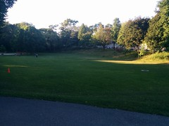 East end of Lithuania Park #toronto #highparknorth #lithuaniapark #lithuania #glenlakeave #keelestreet #evening #green (randyfmcdonald) Tags: glenlakeave evening lithuaniapark highparknorth green lithuania toronto keelestreet