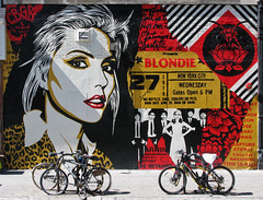 "Blondie, by Shepard Fairey - 316 Bowery St., July 2018 • <a style=""font-size:0.8em;"" href=""http://www.flickr.com/photos/134414577@N06/28654422947/"" target=""_blank"">View on Flickr</a>"