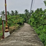 Path on Koh Kret island in the Chao Phraya river near Bangkok, Thailand thumbnail