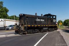 Route 15 (Dan A. Davis) Tags: northshore nshr nshr1 ucir unioncountyindustrialrailroad winfield lewisburg pa pennsylvania freighttrain railroad locomotive train sw1500