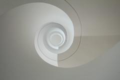 M I L K Y (Elbmaedchen) Tags: stairwell staircase stairs stufen treppenhaus treppenauge treppe upstairs upanddownstairs escaleras escaliers roundandround helix modern interior architecture architektur weis rund spirale spiral milkyway dankeanrainer rainerralph