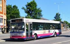 Barbie Bus (Woolfie Hills) Tags: wx05 rym transbus dart swansea