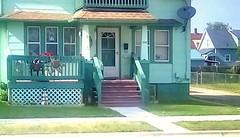 Green house - SFS (Maenette1) Tags: green house stairs neighborhood menominee uppermichigan saturdayforstairs flicker365 allthingsmichigan absolutemichigan projectmichigan