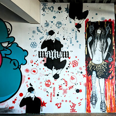 Mr Mayhem (id-iom) Tags: aerosolpaint anarchy art arts cool england graffiti head idiom mayhem meetingmrmayhem mrmayhem paint peterborough soa sons sonsofanarchy spray spraypaint stencil street streetart uk urban vandalism wall