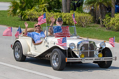 Ray Bassett (dbadair) Tags: 4th july parade tierra verde fl florida st pete red white blue