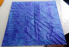 Next work (GGIamBatman) Tags: origami papiroflexia cp precrease patron plegado blue